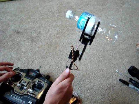 Custom Robot Arm and Gripper Demo