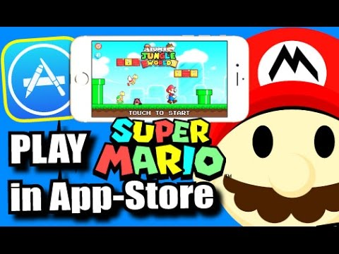 How To: Get/Play Super Mario Bros. On IOS 10/9 (NO EMULATOR) (NO JAILBREAK) Available In App-Store!