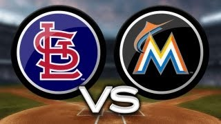 6/14/13: Fernandez fans 10 as Marlins hold off Cards