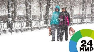 Морозы и метели: во всех алматинских школах отменили занятия - МИР 24