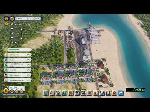 Tropico 6 - Splitter Speedrun - Hard Difficulty in 17:15 |
