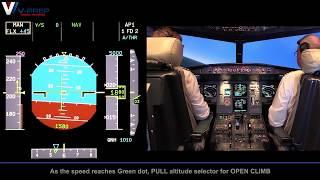 V-Prep: A320 Engine Failure After Takeoff Training