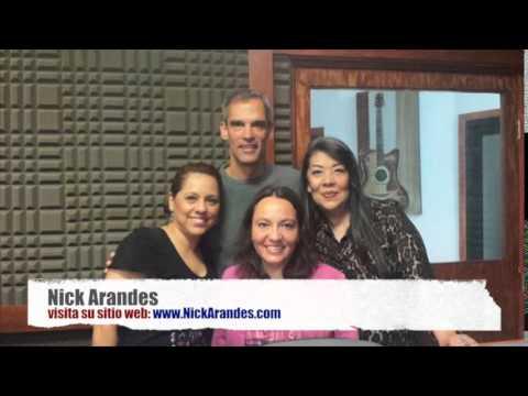 Nick Arandes entrevistado por Roxana Arnaud en Ciudad Juarez, México