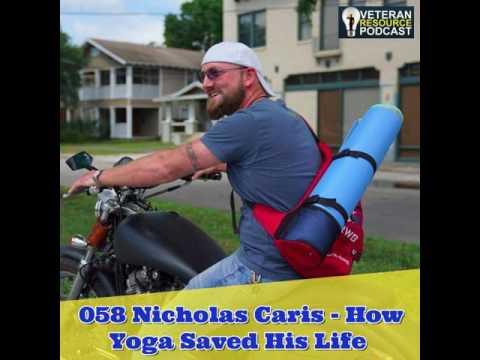 058 Nicholas Caris - How Yoga Saved His Life