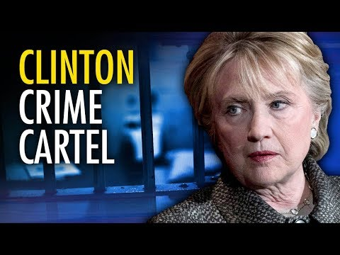 "Justice Dept. Re-Opens Clinton ""Crime Cartel"" Investigation 