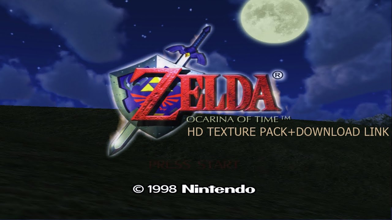 Zelda Ocarina of Time HD Texture Pack 2016 +Download Link ...