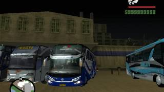 GTA SanAndreas MOD Bus Indonesia ( New )