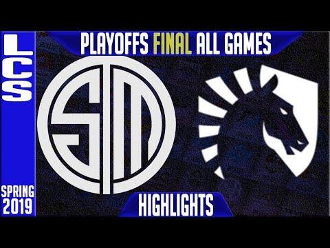 TSM vs TL Highlights ALL GAMES | LCS Playoffs Grand Final Spring 2019 | Team Solomid vs Team Liquid