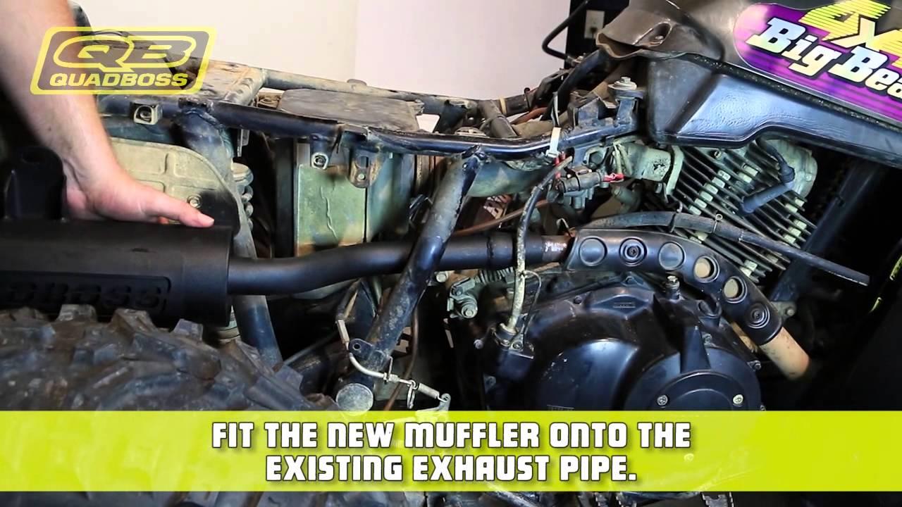 How To | Install the Muffler | QuadBoss