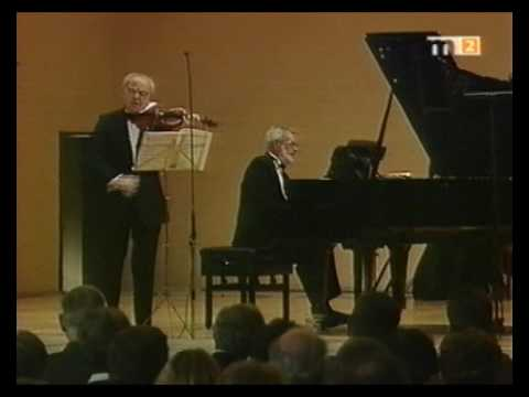 Gyorgy Pauk & Jeno Jando plays Beethoven Violin Sonata op.30 no.2  1.movement