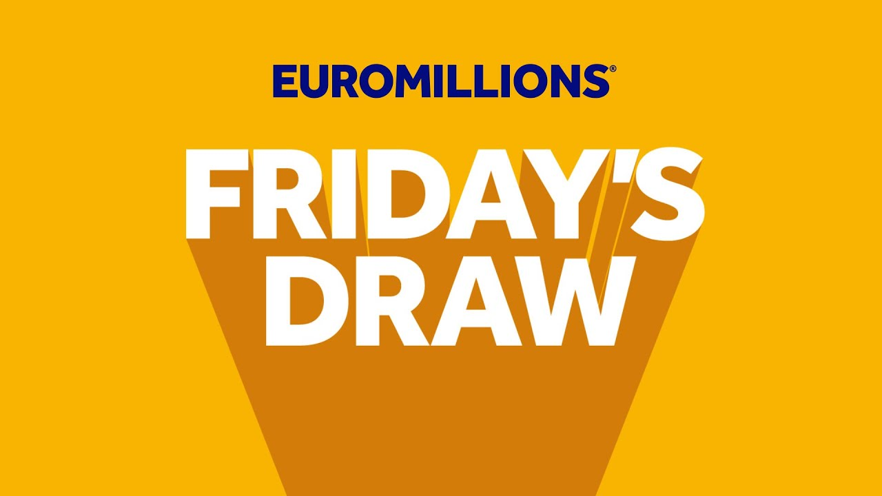 The National Lottery 'EuroMillions' draw results from Friday 7th August 2020