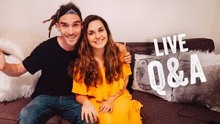 WE'VE MOVED IN TOGETHER! LIVE Q&A WITH RAYA