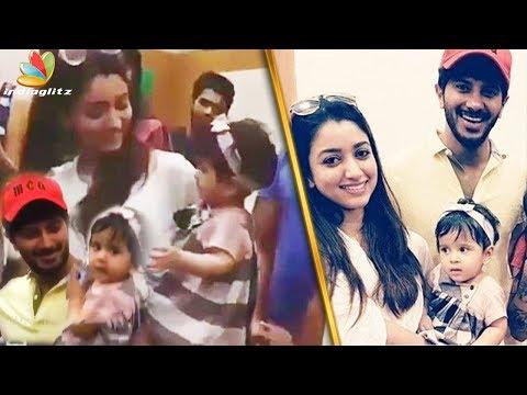 ദുല്ഖറിന്റെ മറിയത്തിന്റെ ഡാൻസ് | Dulquer Salman Dancing With His Daughter Mariyam | Vairal Video