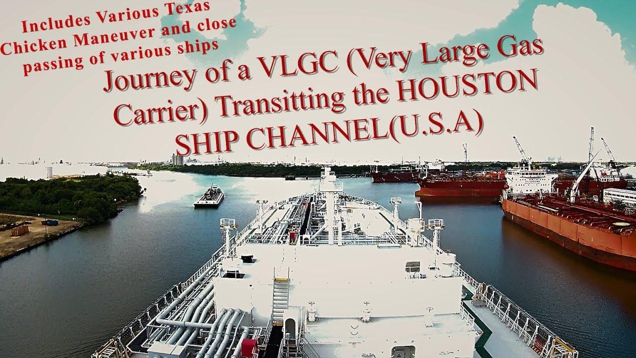 Download LPG TANKER    MEGA SHIP (VLGC) transiting the HOUSTON SHIP CHANNEL    Mariner Biker - Rahul Chadha