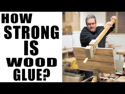 Wood Glue Is STRONG But It Doesn't Stick To My Clamps