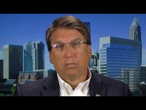 Gov. Pat McCrory on ObamaCare and North Carolina's economy