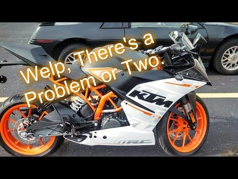 Things I Dislike About My KTM RC390 After a Year.