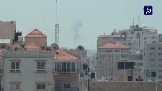 طائرات الاحتلال تقصف عدة مواقع في قطاع غزة
