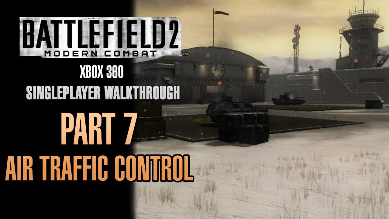 Battlefield 2 Modern Combat Walkthrough Xbox 360 Part 7 Air