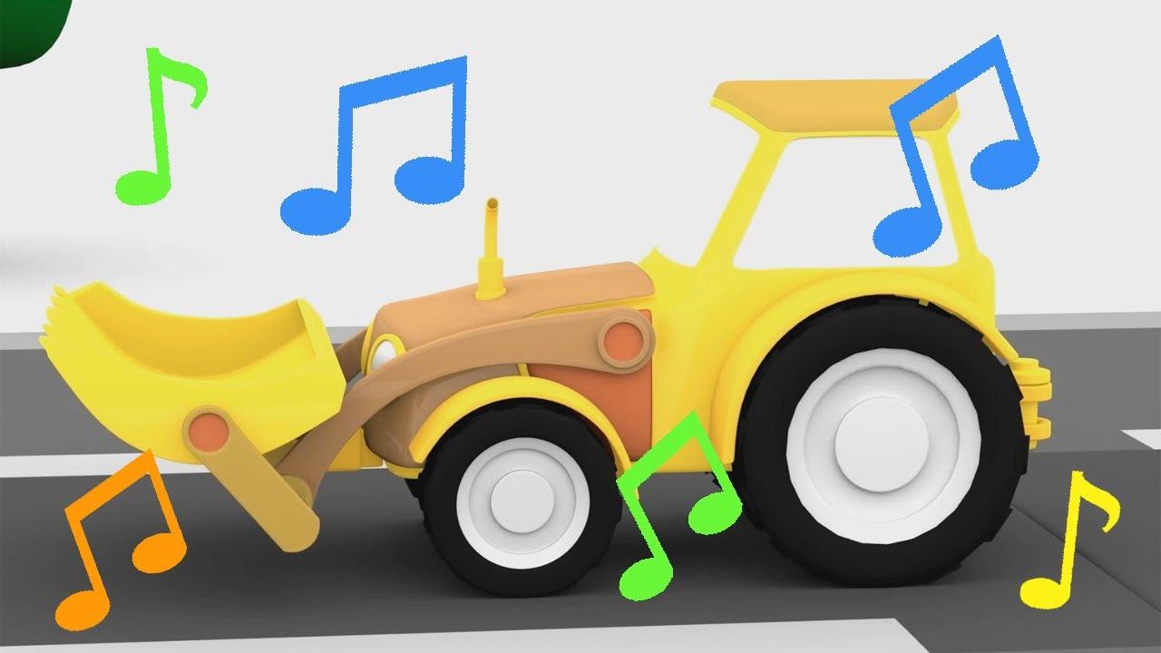 Cartoni animati per bambini la canzone del trattore
