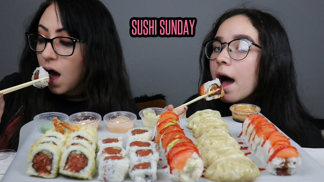 SUSHI MUKBANG | EATING SHOW