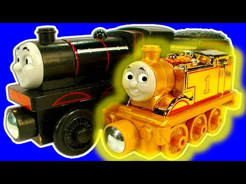Gold Thomas The Tank Black James Chuggington Hot Wheels Lego Toys R Us Haul