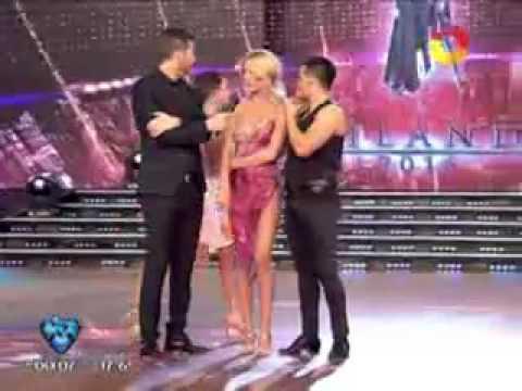Pampita abandonó ShowMatch tras pelearse con Nicole Neumann y Marcelo Polino