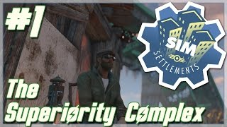 """Fallout 4: Sim Settlements [Modded] // Ron and The Superiority Complex // Ep. 1 - """"Towers"""""""