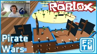 Roblox Pirate Wars (I AM SENDING YE LANDLUBBERS TO DAVY JONES LOCKER)