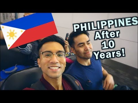 GOING HOME TO THE PHILIPPINES 🇵🇭   PHILIPPINES TRAVEL VLOG
