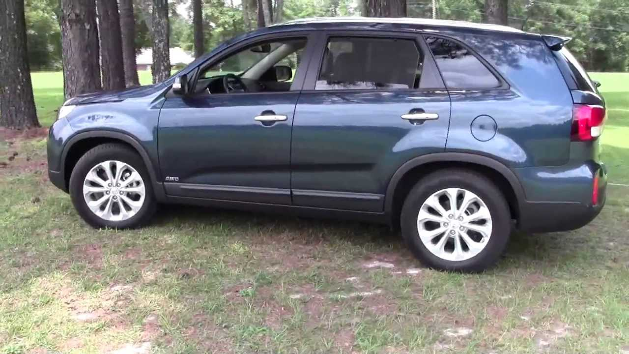 2014 Kia Sorento EX AWD V6 SUV Detailed Walkaround   YouTube