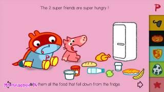 МАЛЫШ панго СУПЕРГЕРОЙ чуть не ПОРВАЛ ХРЮШКУ Игровой мультик для детей Игра для малышей #Малышерин