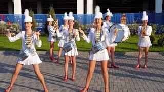 Russian girls entertainment at Kaliningrad Stadium in FIFA World Cup 2018 (Русские девушки)