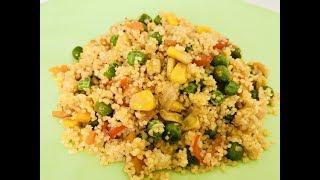 Рассыпчатый КусКус с овощами за 15 МИНУТ. CousCous mit Gemüse in 15 minuten