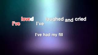 My Way - Frank Sinatra [karaoke]