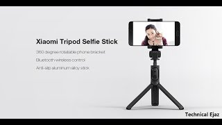 Xiaomi Selfie Stick Bluetooth Tripod Unboxing And Review Urdu/Hindi