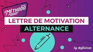 Lettre de motivation Alternance - digiSchool alternance