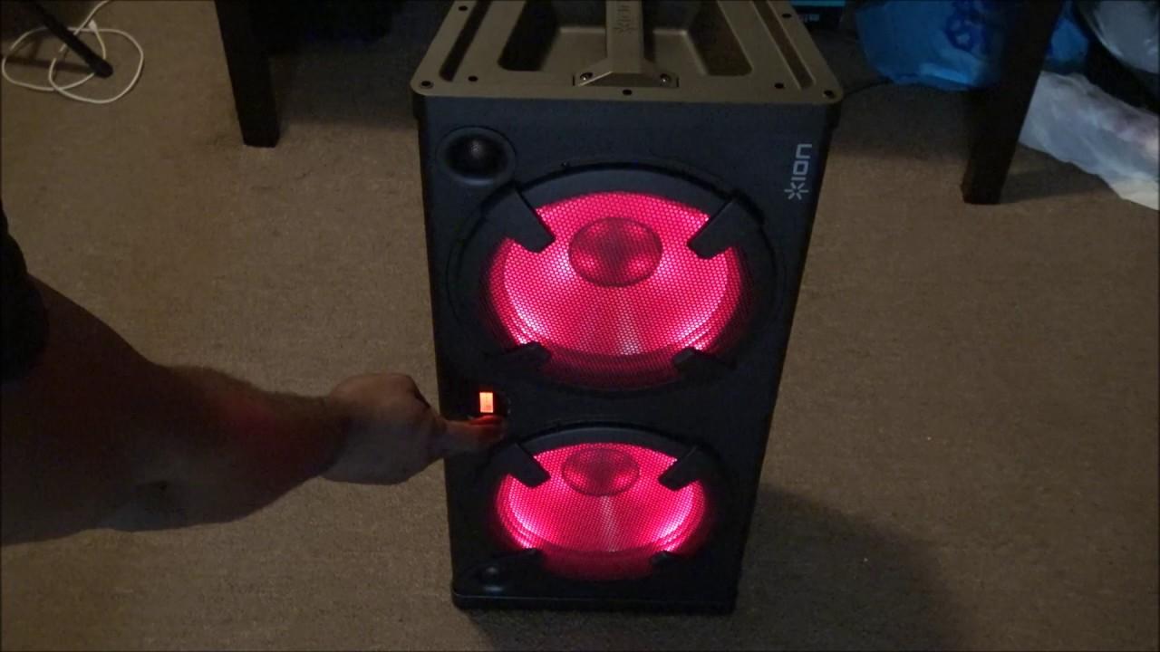 review ion audio road warrior 500 watt portable. Black Bedroom Furniture Sets. Home Design Ideas