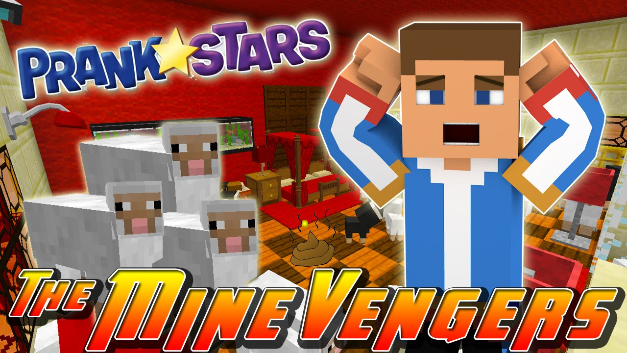 Minecraft Adventure - PRANK WARS vs DONNY & DONUT!!!