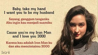 I Love You 3000 - Stephanie Poetri 🇮🇩🇮🇩 (Lyrics video dan terjemahan)