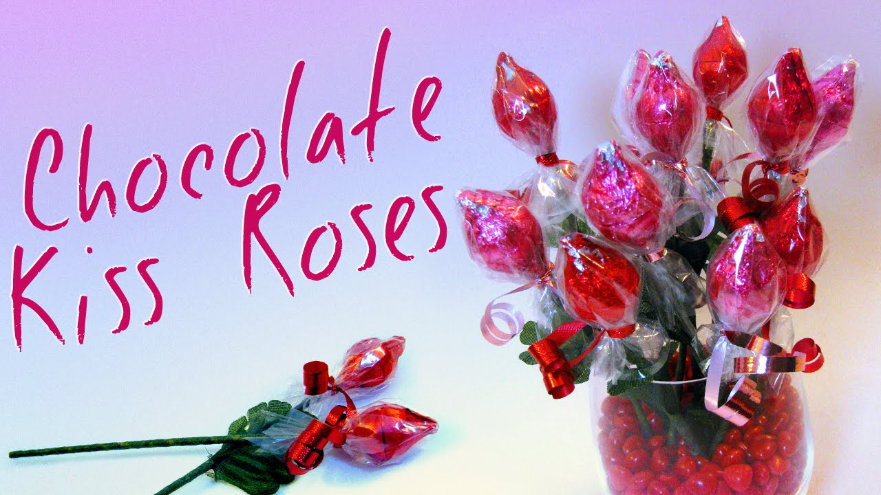 Chocolate Kiss Roses - Valentine\'s Day (Mother\'s Day) Gift Ideas For ...