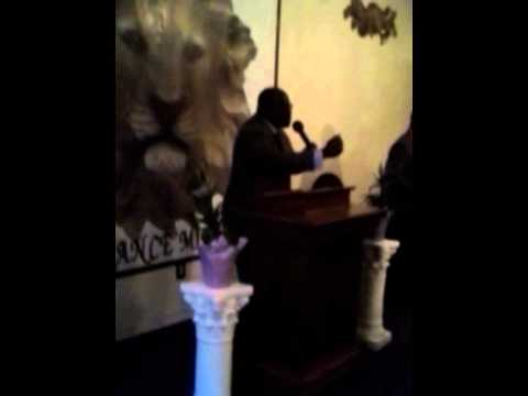 Pas. Anthony Arnold doing Praise & Worship