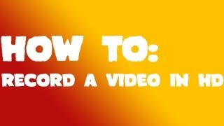 HOW TO: RECORD A VIDEO WITH VIRTUALDUB IN HD || FREEWARE SOFTWARE || 2013