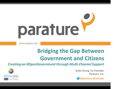 Bridging the Gap Between Government & Citizens #OpenGovernment