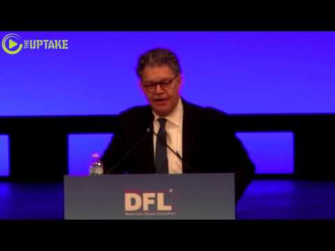 Sen. Al Franken Addresses MN Democratic Party Convention