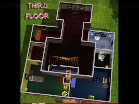 Los sims 3 casas mansiones y familias youtube for Planos de casas sims