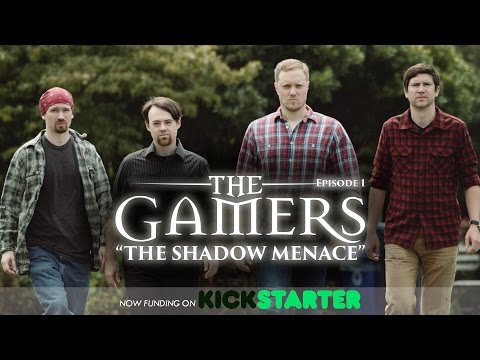 """""""The Gamers: The Shadow Menace"""" is now on Kickstarter!"""