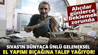 Gambar cover El Yapımı Sivas Bıçağının Ünü Ülkeyi Aştı, Kargo Engeline Takıldı