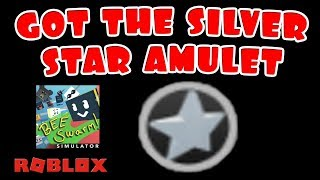 SILVER STAR AMULET FOR 10 GIFTED BEES - Bee Swarm Simulator - ROBLOX