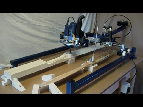 The Easy Carver - Router Duplicator Plans - PDF Download